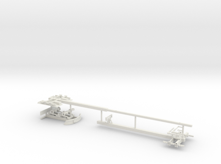 1/50th Expanding steerable pipe trailer 3d printed