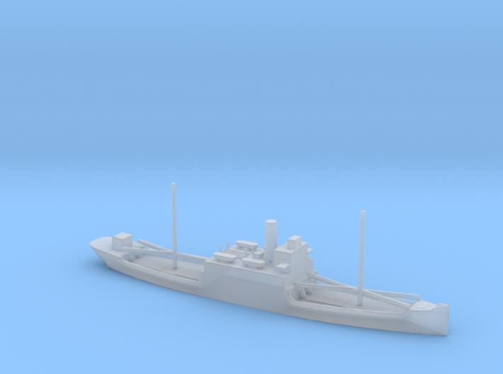 1/1800 Scale 3525 Ton Steel Cargo Ship Lake A Desi 3d printed