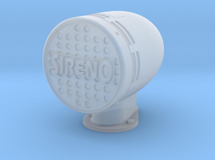 Siren 1/18 scale 3d printed
