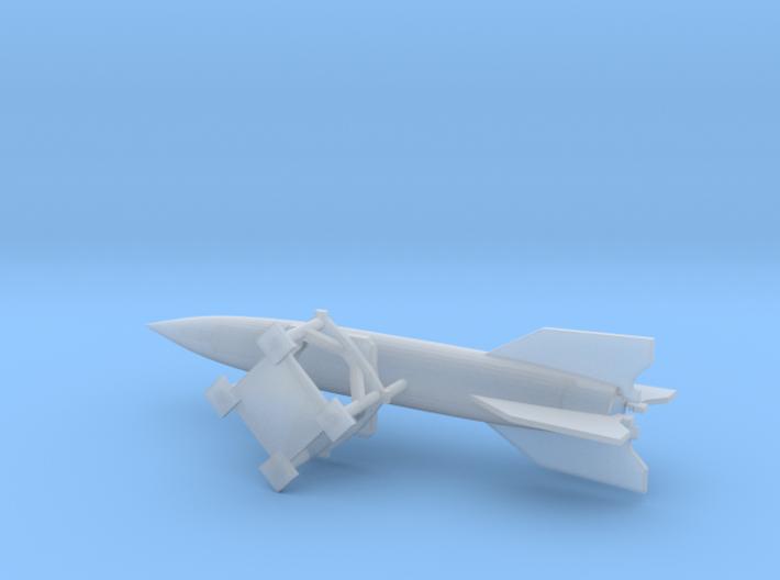 V2 Rocket 1/200 Scale 3d printed