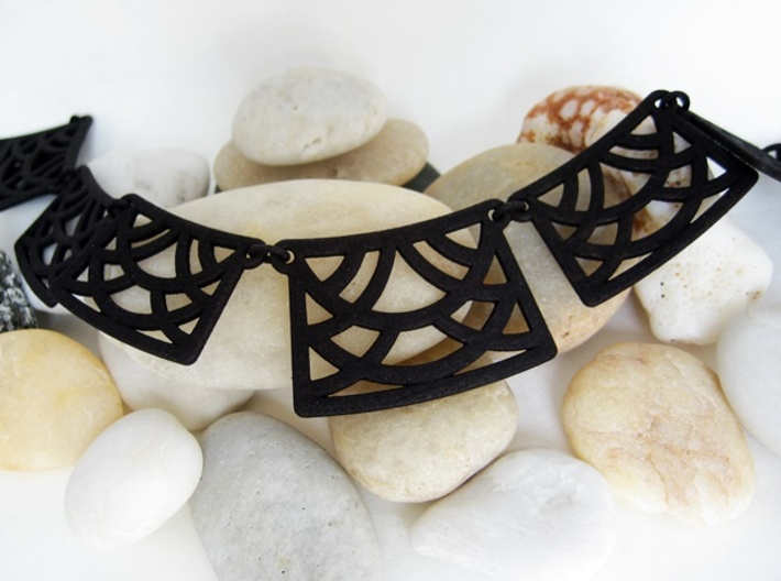 Art Deco Statement Necklace 3d printed