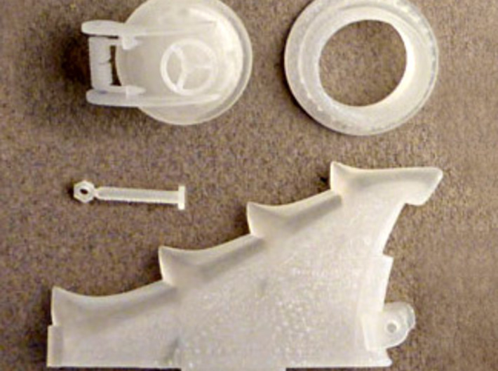 Nautilus Dorsal Group B31 Complete 3d printed Most of the part of the Dorsal Hatch Group right from the box.