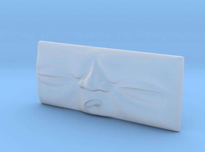 Toad Face #1 [O Gauge] 3d printed