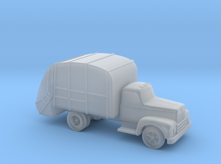 Garbage Truck - Nscale 3d printed