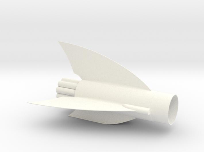 Dragonship 7 Fin Unit 3d printed