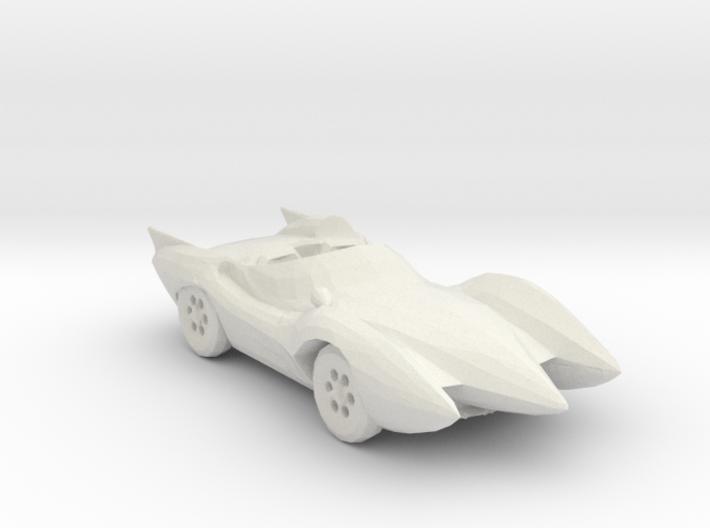 Mach 5 160 scale 3d printed