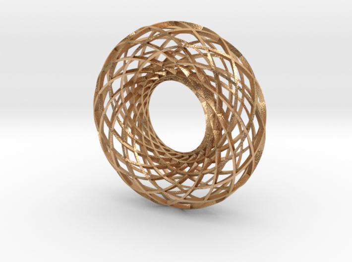 Twisted strip torus,large 3d printed