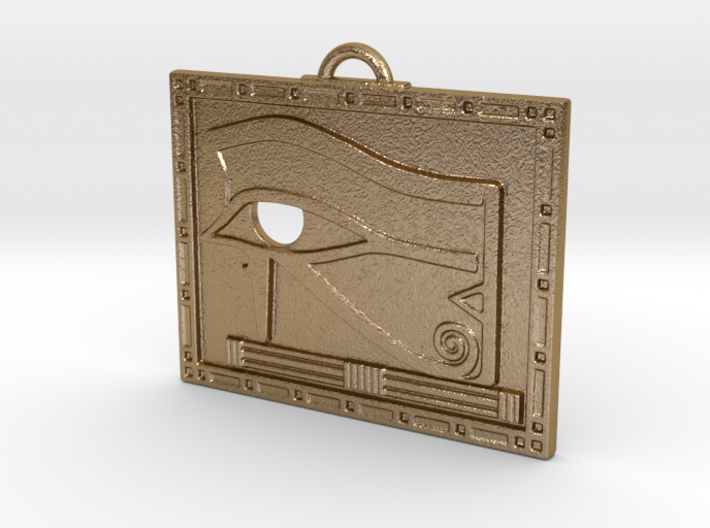 Egyptian Scrying Eye Amulet 3d printed