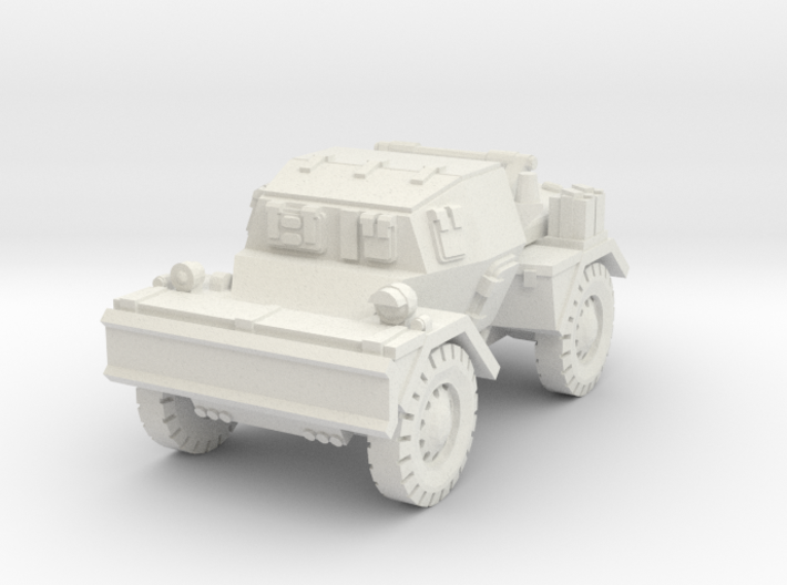 Daimler Dingo mk2 (closed) 1/72 3d printed