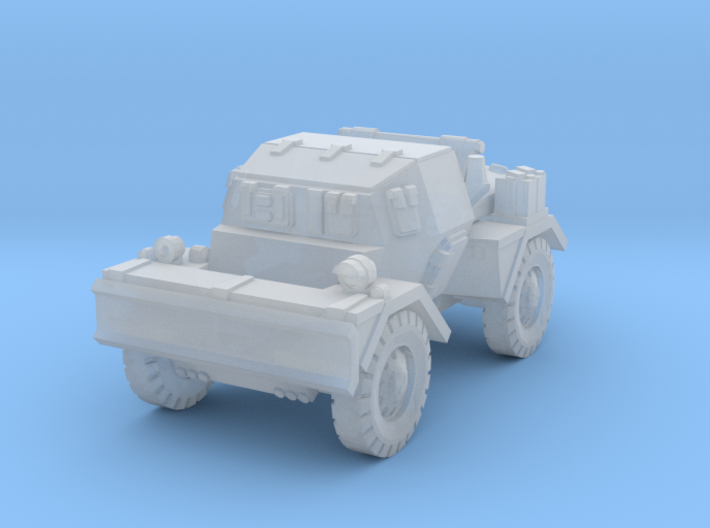 Daimler Dingo mk2 (closed) 1/144 3d printed