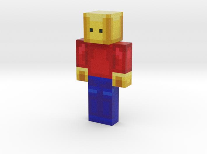 Jx | Minecraft toy 3d printed