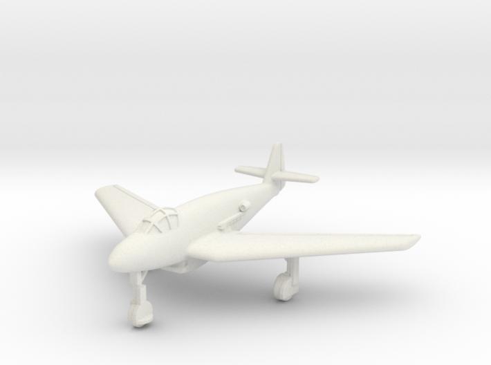(1:144) Messerschmitt Me 509 w/ Swept wing 3d printed
