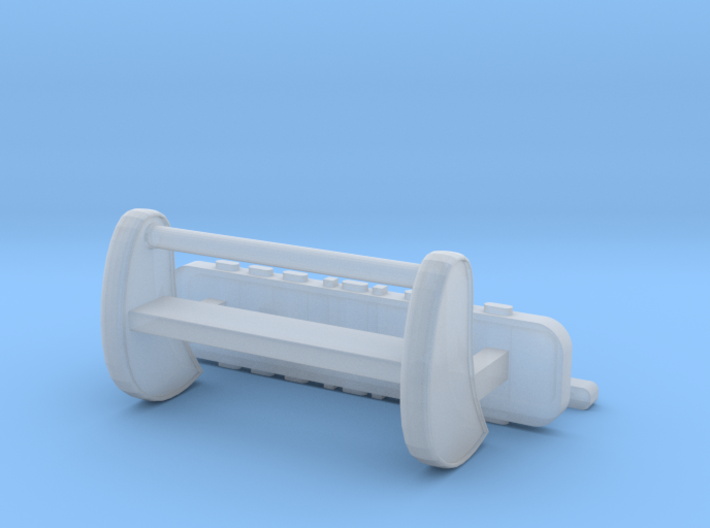 1/87 Push Bar & Light Bars for SUV/Pickup 3d printed