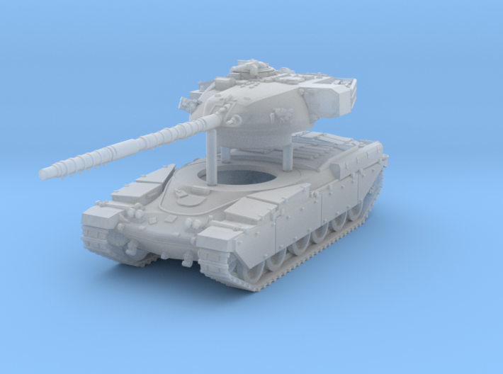 Main Battle Tank Chieftain MK6 Scale: 1:160 3d printed