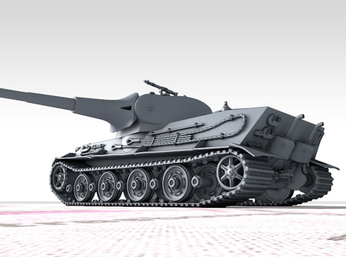1/144 German Pz.Kpfw. Löwe VK70.01 (K) Heavy Tank 3d printed 3d render showing product detail