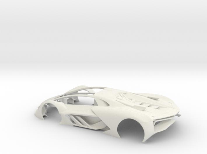 1:32 LTM Body (for LTM Slot Car model) 3d printed