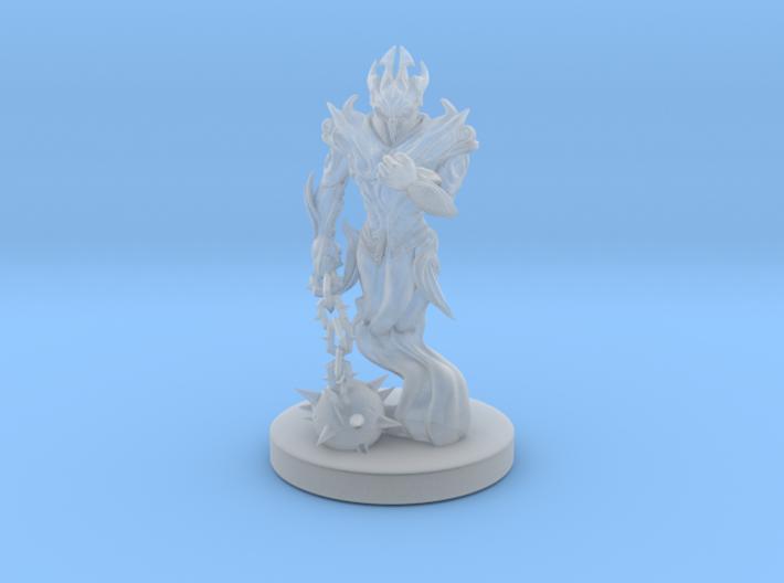 Air Elemental Myrmidon Fanart 3d printed