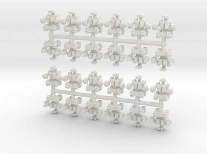 Assault Bot 3d printed