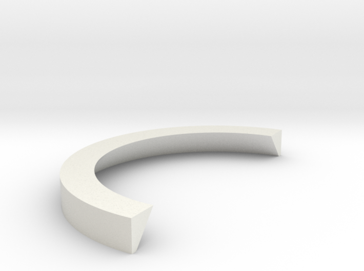 1:1 Apollo RCS Split Ring 3d printed