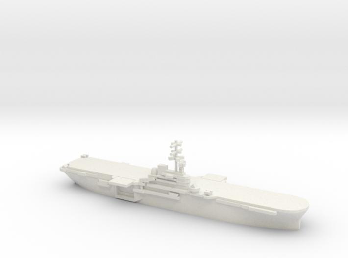 Iwo Jima-class LPH, 1/2400 3d printed