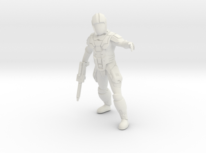 Sith Trooper Captain 3d printed