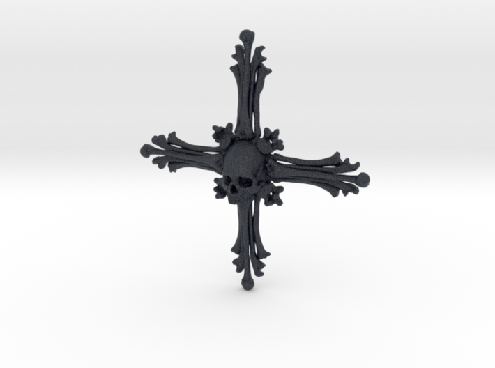 Cross Bone Pendant 3d printed