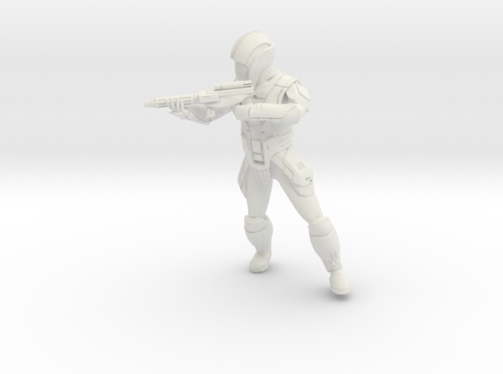 Sith Trooper with Carbine 4 3d printed