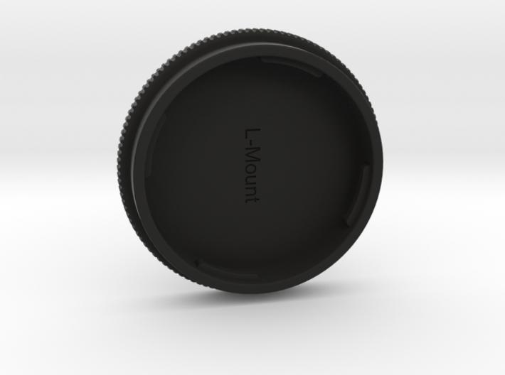 L-Mount Lense Cap 3d printed