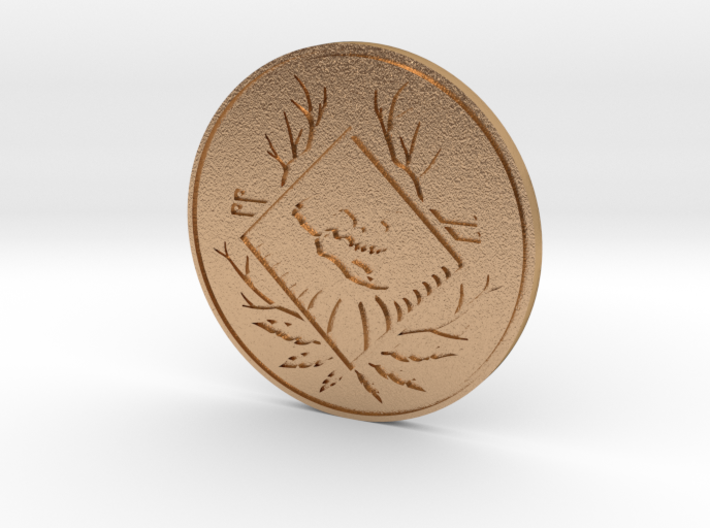 Apex Legends Coin - Apex Coin & Season 1 BP 110 3d printed