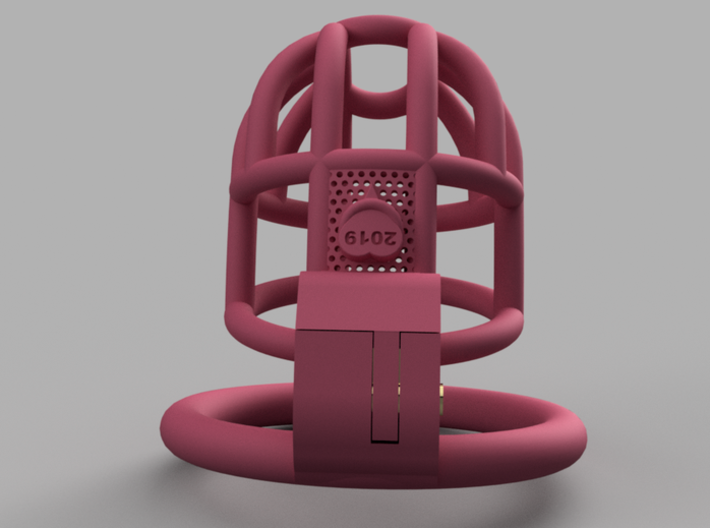Cherry Keeper Custom CKC-PWSDN0-19 Cage 3d printed