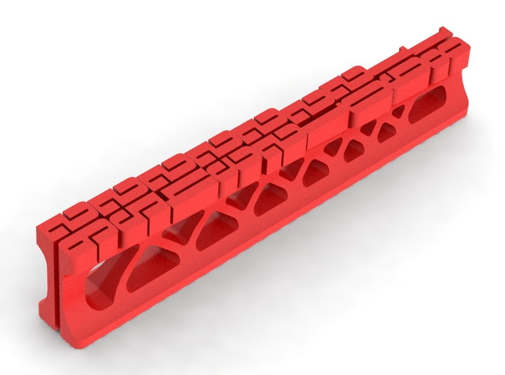RC Off-Road Ride Height Gage 18-26mm 3d printed