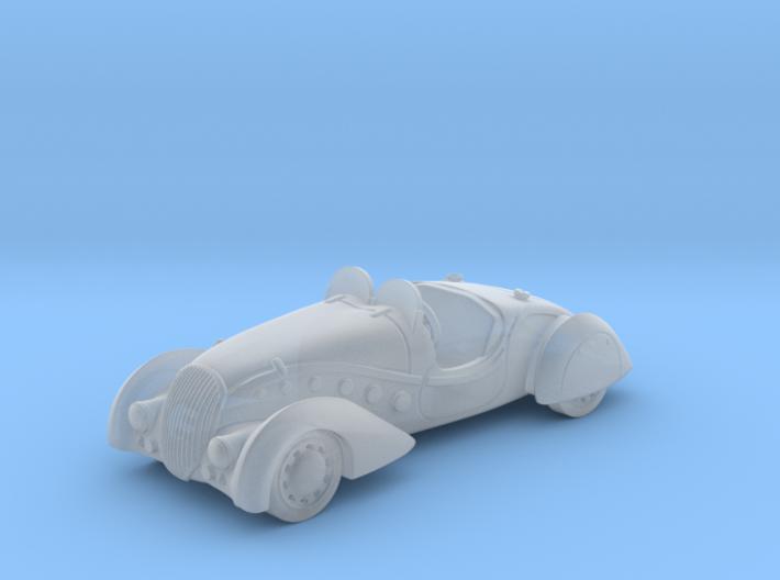 Peugeot 402 Convertible 1:87 HO 3d printed