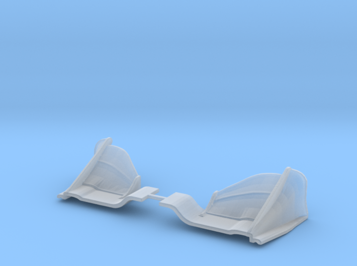 indycar 2018 front wing 1/18 [thicker version] 3d printed