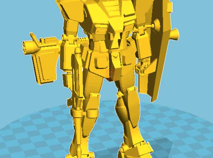 Gundam 3d printed