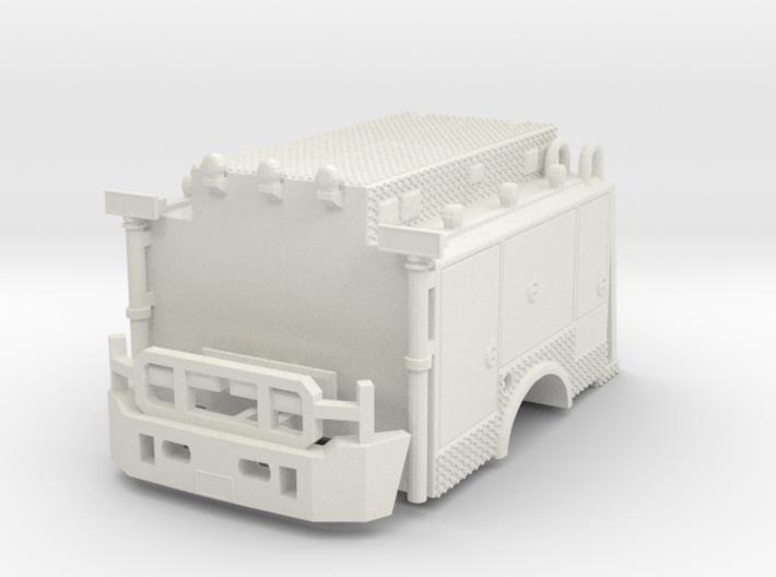 1/87 ESU, ESS, ESD Body with bumper 3d printed