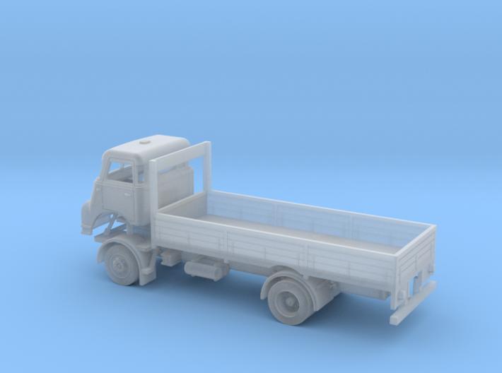 TT-scale (1:120) DAF DO 2400 2x4 lorry. 3d printed