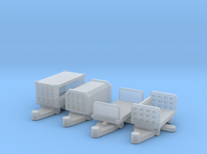 luggage trailers 3d printed