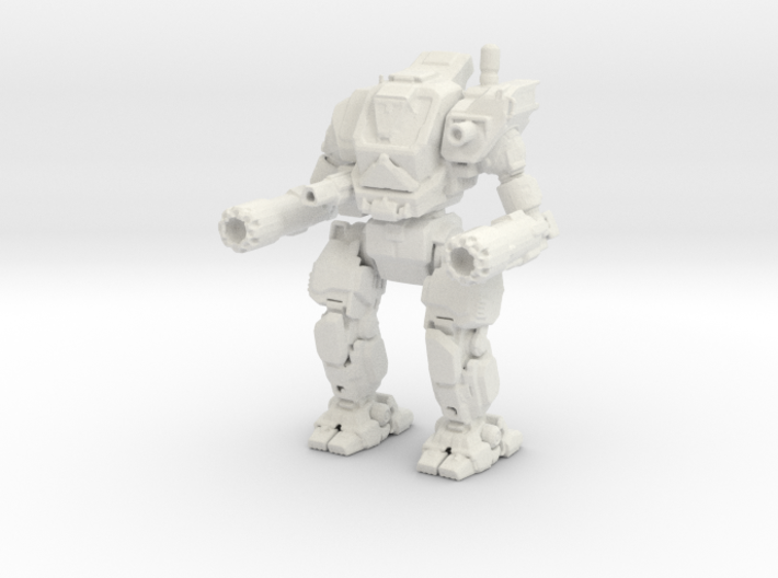 Kerensky Mechanized Walker System 3d printed
