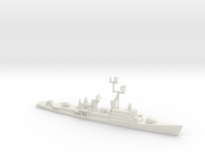 1/1250 Scale Charles F Adams Class DDG-2 Early Shi 3d printed