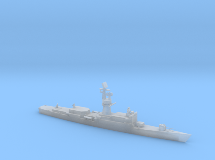 1/1250 Scale Baleares class Missile Frigate 3d printed
