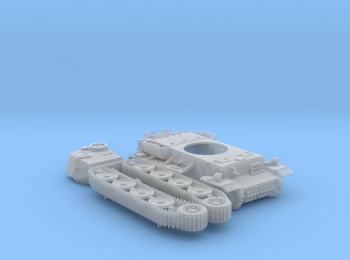 1/87 (HO) Pz.Kpfw VI VK36.01 (H) 10.5cm L/28 Tank  3d printed 1/87 (HO) Pz.Kpfw VI VK36.01 (H) 10.5cm L/28 Tank x1
