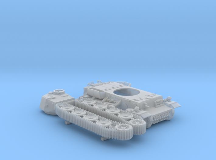 1/160 (N) Pz.Kpfw VI VK36.01 (H) Gerät 725 Tank 3d printed 1/160 (N) Pz.Kpfw VI VK36.01 (H) Gerät 725 Tank