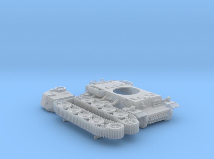 1/120 (TT) Pz.Kpfw VI VK36.01 (H) 10.5cm L/28 Tank 3d printed 1/120 (TT) Pz.Kpfw VI VK36.01 (H) 10.5cm L/28 Tank