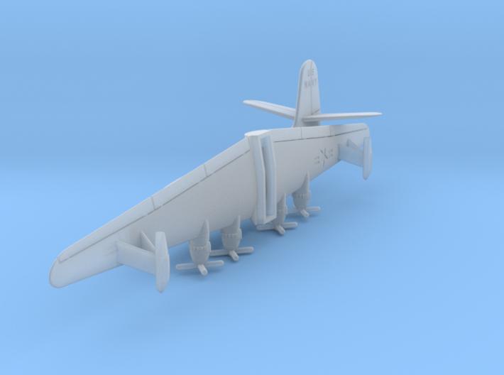Martin JRM1 Mars US NAVY in flight  1:500 Scale 3d printed