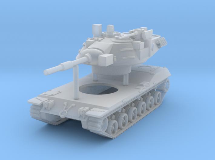 MBT-70 (KPz-70) Main Battle Tank Scale: 1:100 3d printed