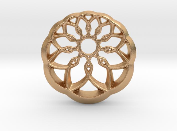Growing Wheel 3d printed