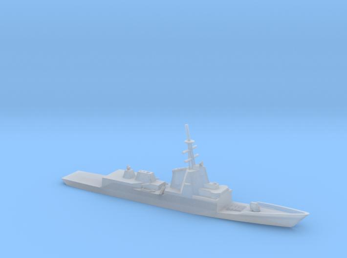 1/1250 Scale Spanish frigate Álvaro de Bazán 3d printed