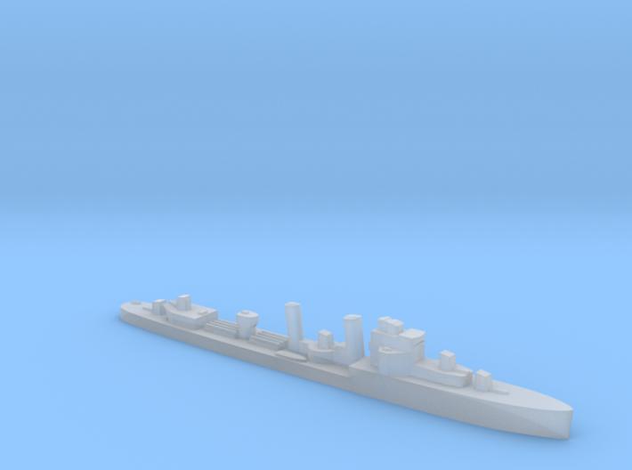 HMS Exmouth 1:2400 WW2 destroyer 3d printed