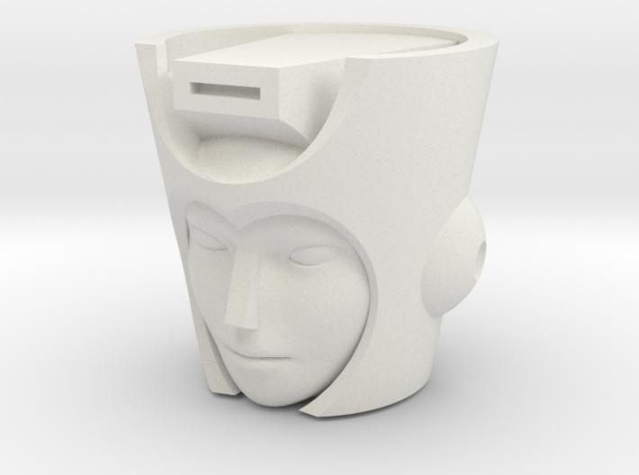 Chromia head for POTP Moonracer 3d printed