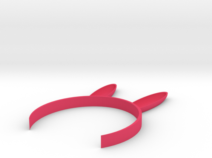 [1DAY_1CAD] BUNNY EARS HEADBAND 3d printed